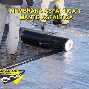 MEMBRANA ASFALTICA Y MANTO ASFALTICA